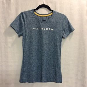 NIKE Women's Dri-Fit LIVESTRONG t- shirt